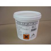 Pastiglie in Tricloro da 200 g per prodotto chimico per piscine .Barattolo da Kg11