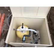 Installazione impianto Filtrazione e collaudo.