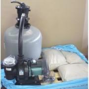 Impianto di filtrazione completo per piscina Costa del Sol